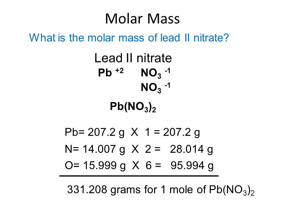 Entry task block 1 feb 1st 2nd block 2 ppt video online download 19 molar mass lead urtaz Choice Image