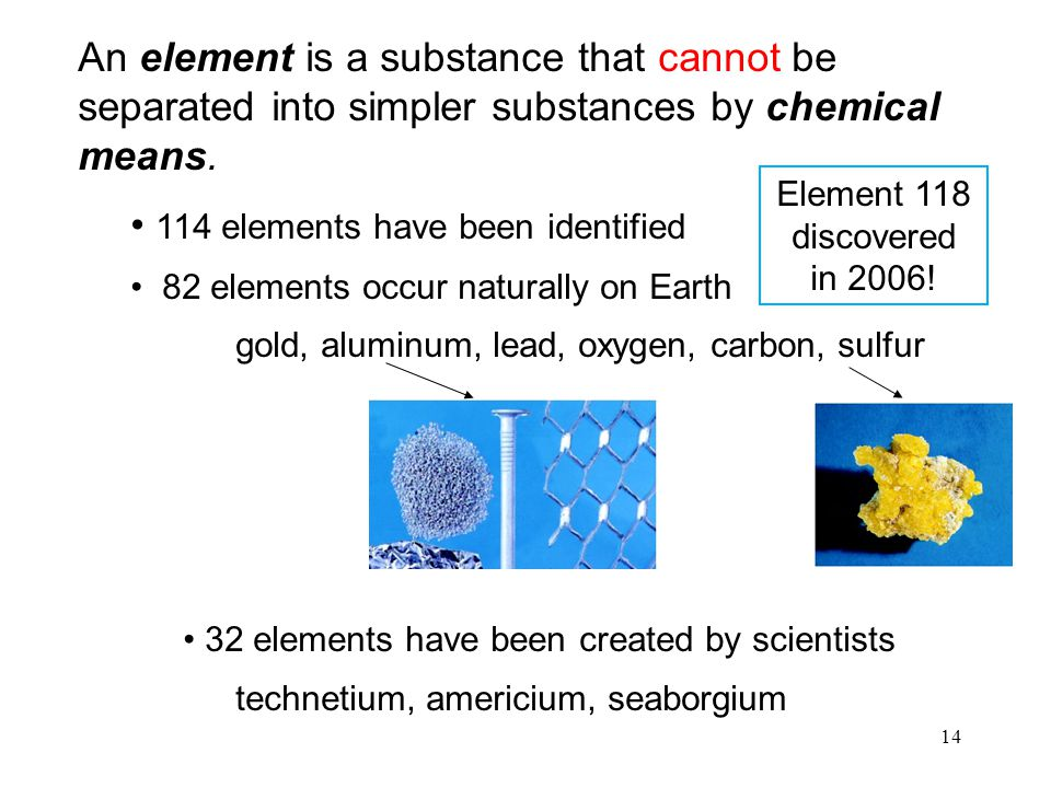 114 elements have been identified