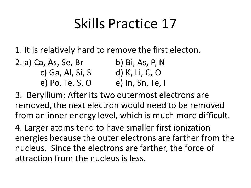 Skills Practice 17