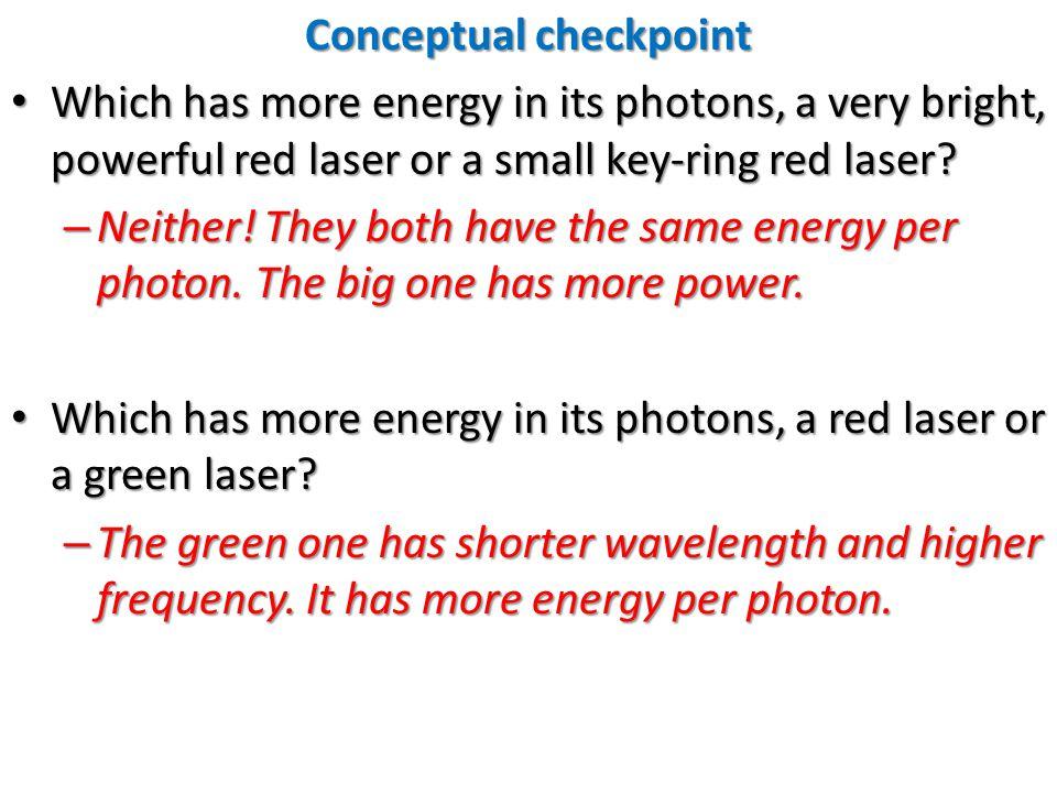 Conceptual checkpoint