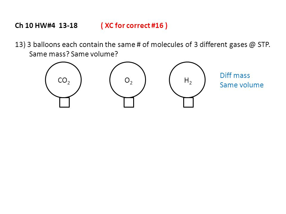 Ch 10 HW#4 13-18 ( XC for correct #16 )