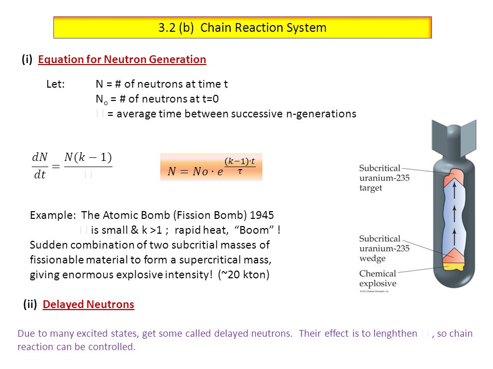 3.2 (b) Chain Reaction System