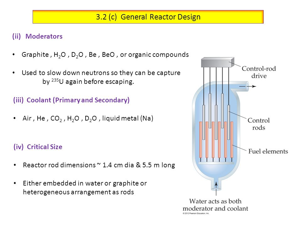 3.2 (c) General Reactor Design