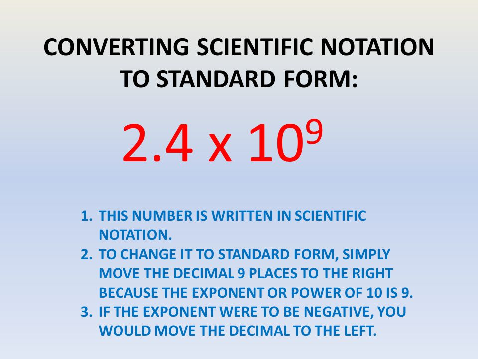Scientific Notation 682x10 To The 4th Power Ppt Download
