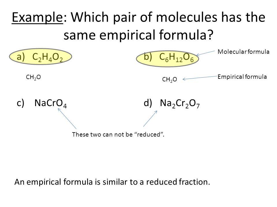 Empirical formula worksheet answers gcse