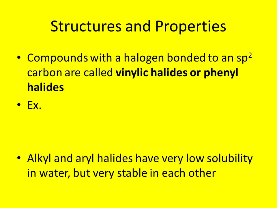 Structures and Properties