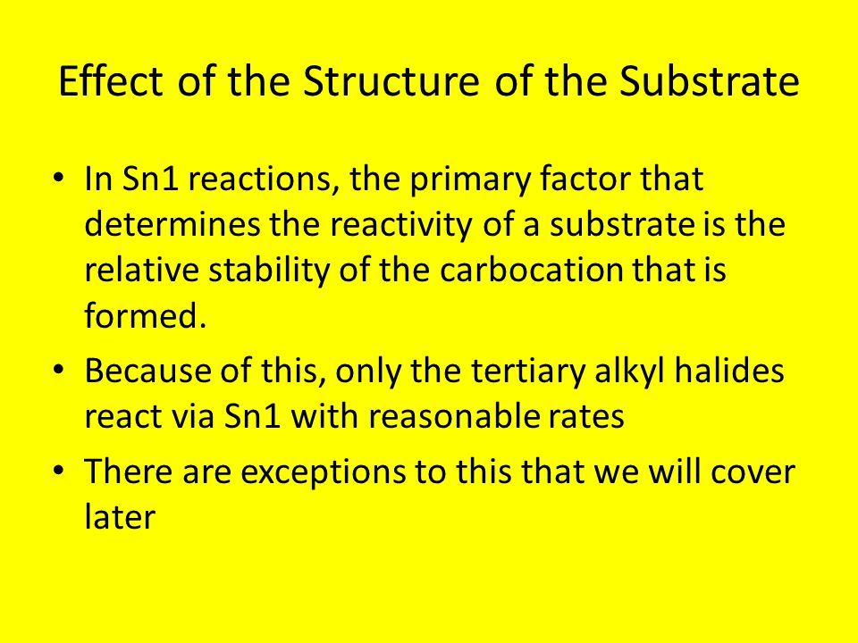 Effect of the Structure of the Substrate
