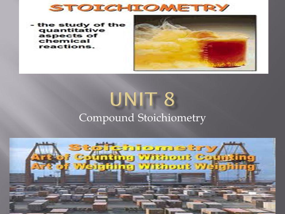 Compound Stoichiometry