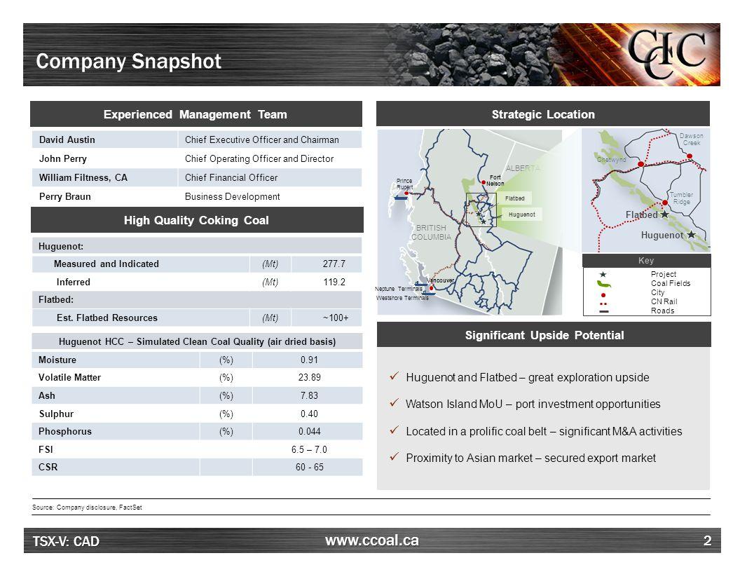 Peace River Coalfield ALBERTA BC 3 Atrum Coal PRC Project
