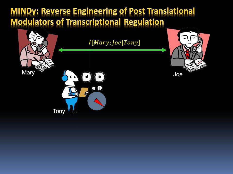 MINDy: Reverse Engineering of Post Translational Modulators of Transcriptional Regulation