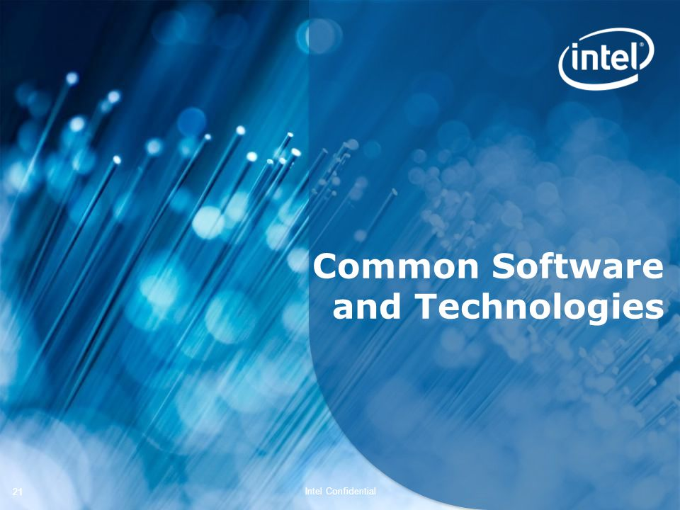 Common Software and Technologies