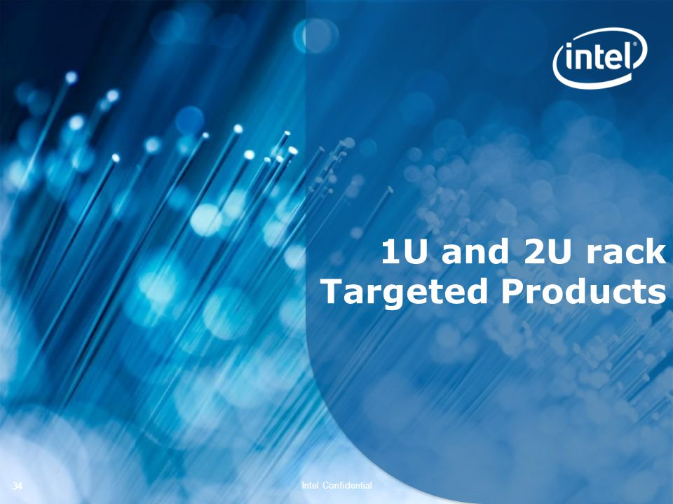 1U and 2U rack Targeted Products