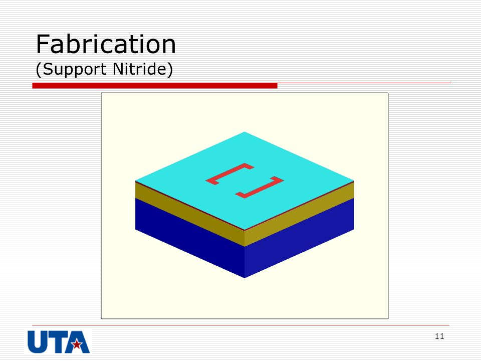Fabrication (Support Nitride)