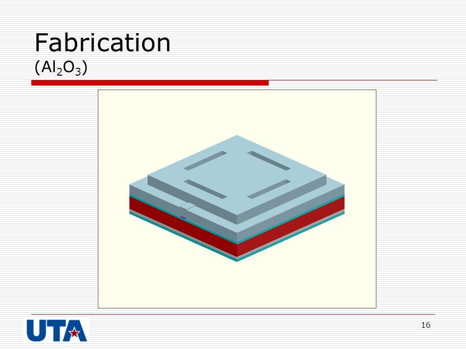 Fabrication (Al2O3)
