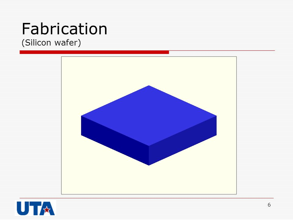 Fabrication (Silicon wafer)
