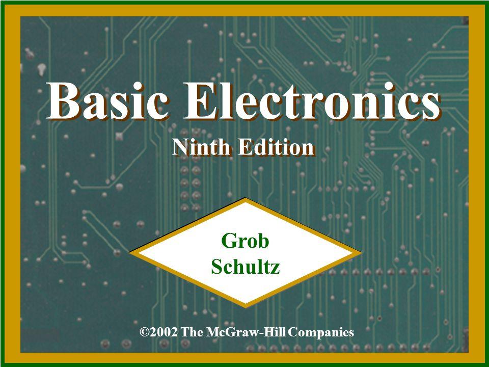 Basic Electronics Ninth Edition Grob Schultz Ppt Video Online Download