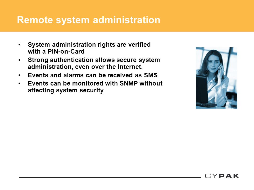 Remote system administration
