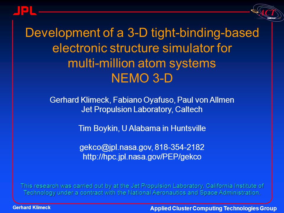 Development of a 3-D tight-binding-based electronic structure simulator for multi-million atom systems