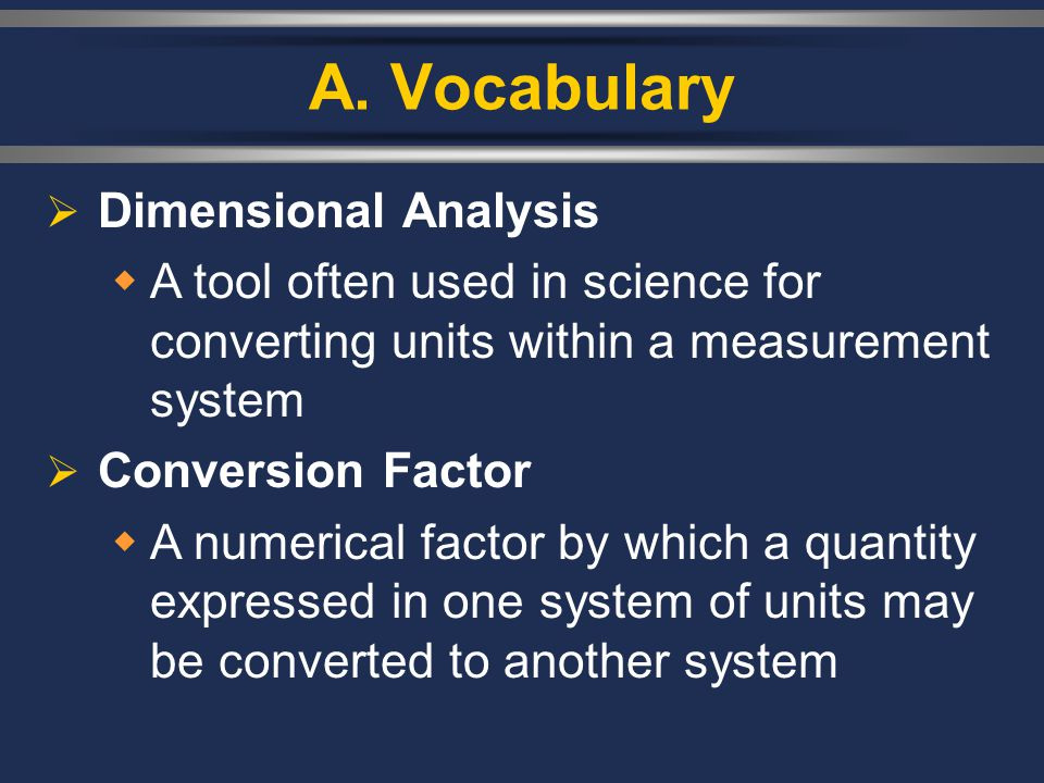 A. Vocabulary Dimensional Analysis