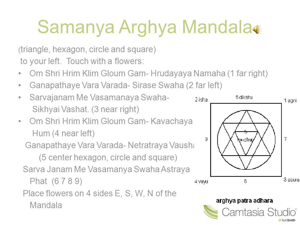 Samanya Arghya Mandala