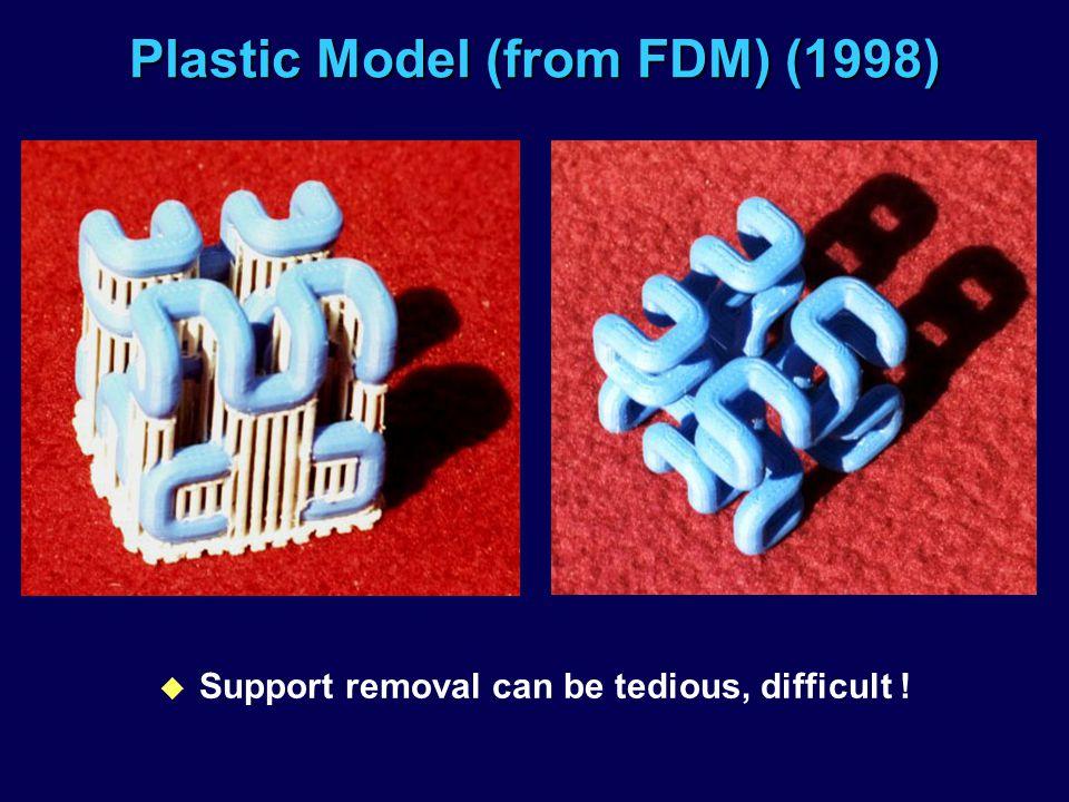 Plastic Model (from FDM) (1998)