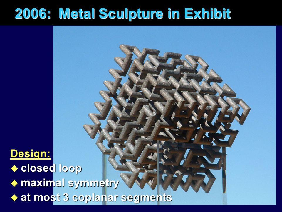 2006: Metal Sculpture in Exhibit