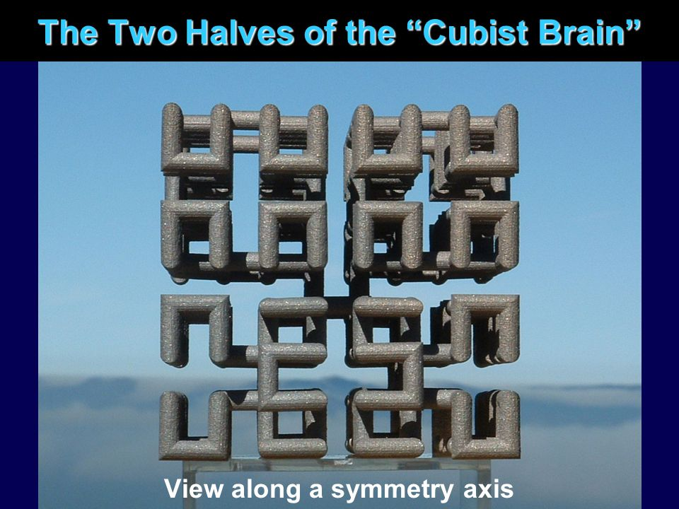 The Two Halves of the Cubist Brain