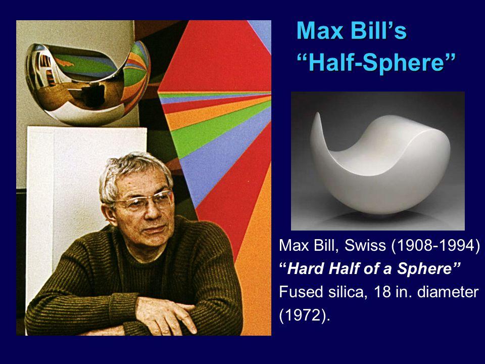 Max Bill's Half-Sphere
