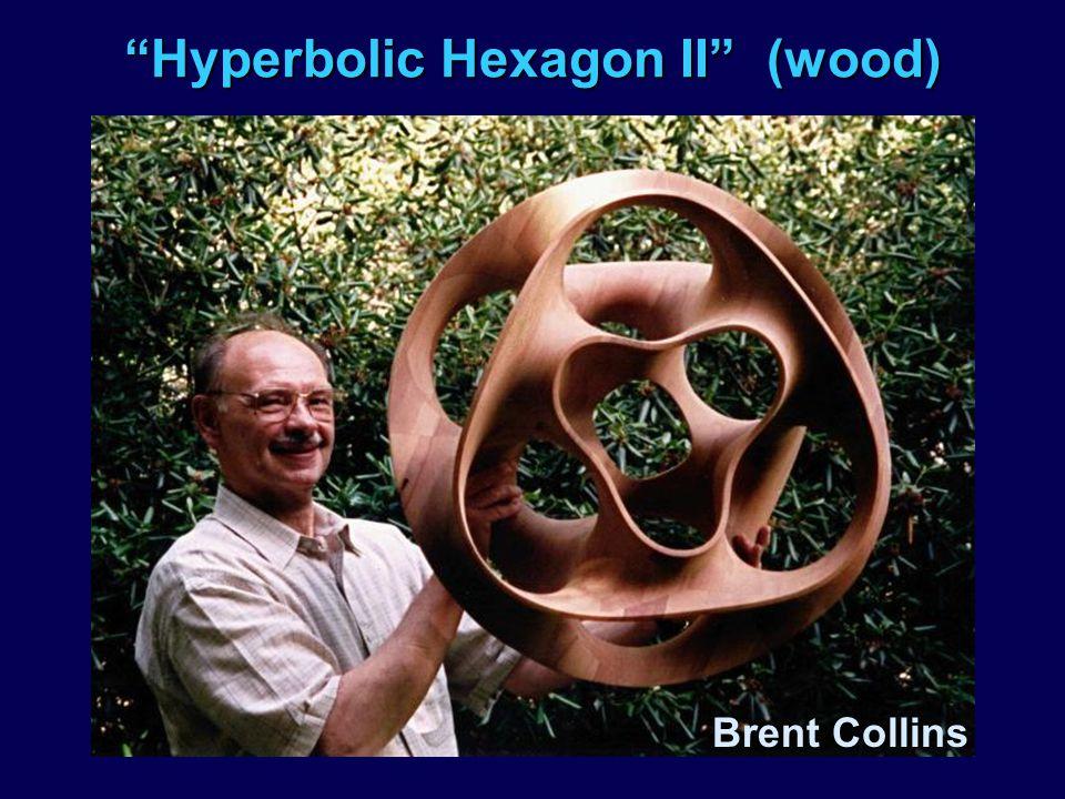Hyperbolic Hexagon II (wood)