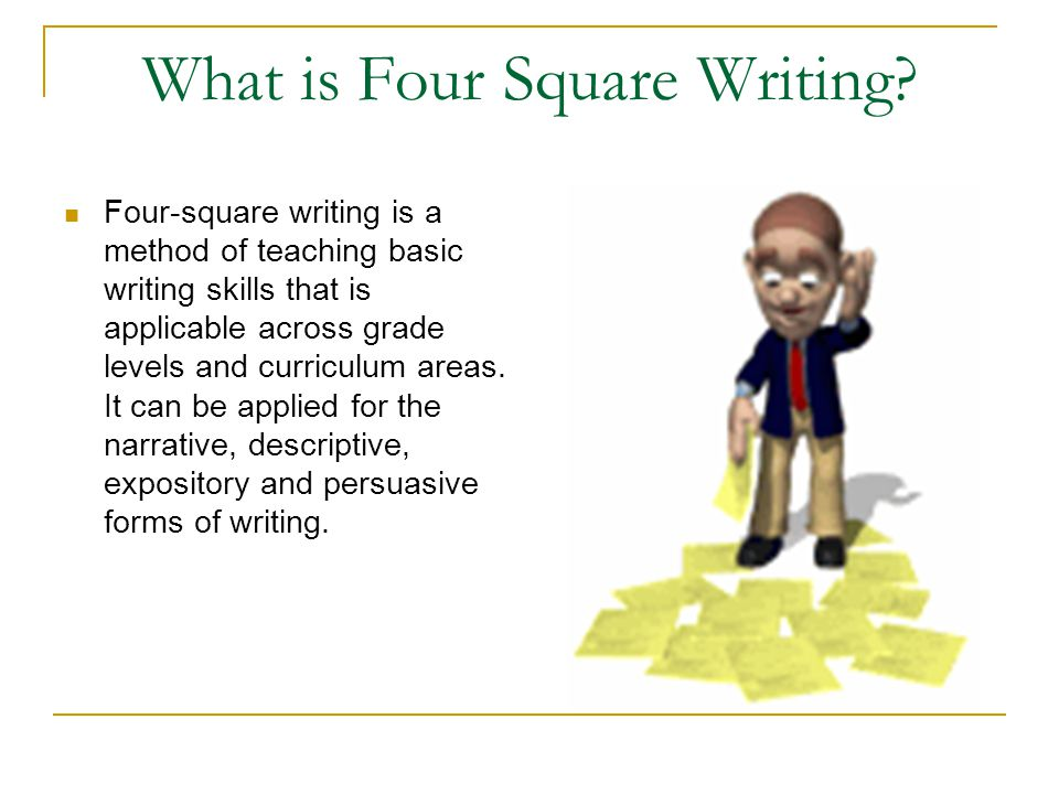 What is Four Square Writing