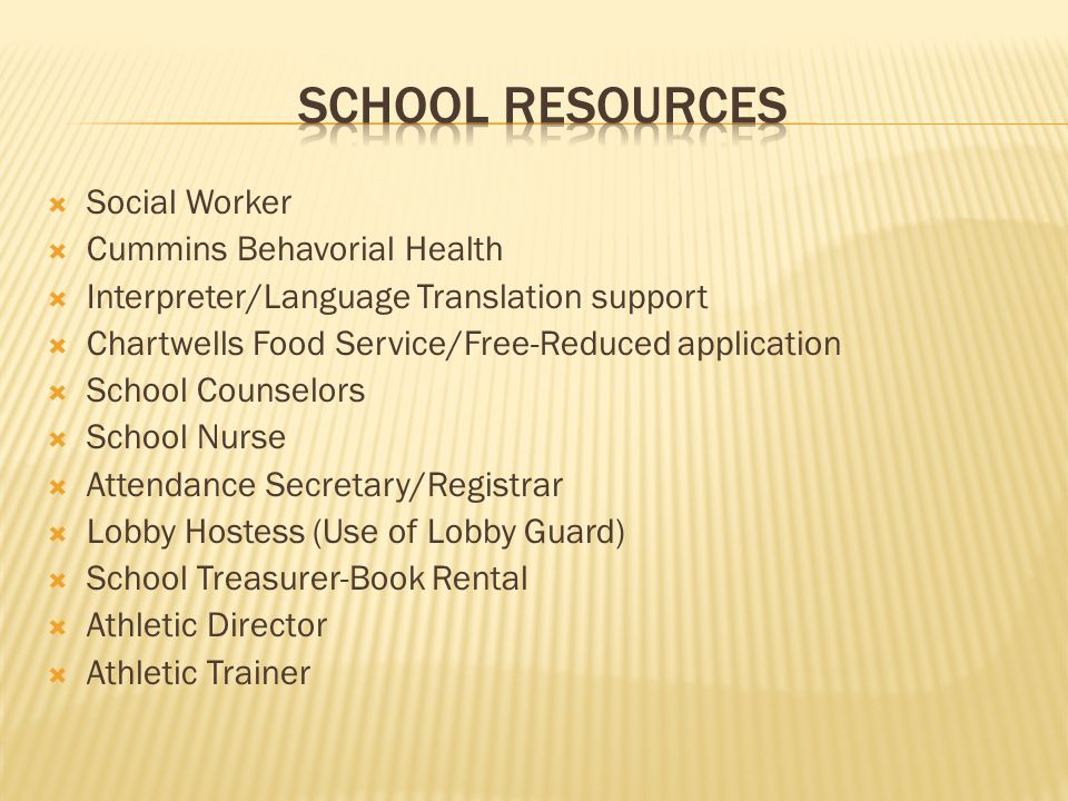 School Resources Social Worker Cummins Behavorial Health