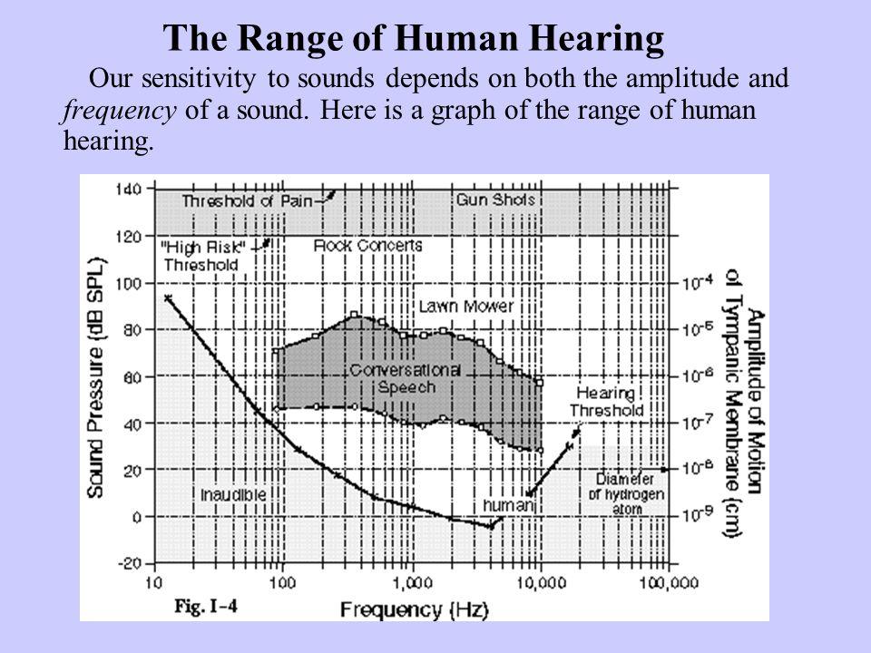 The Range of Human Hearing