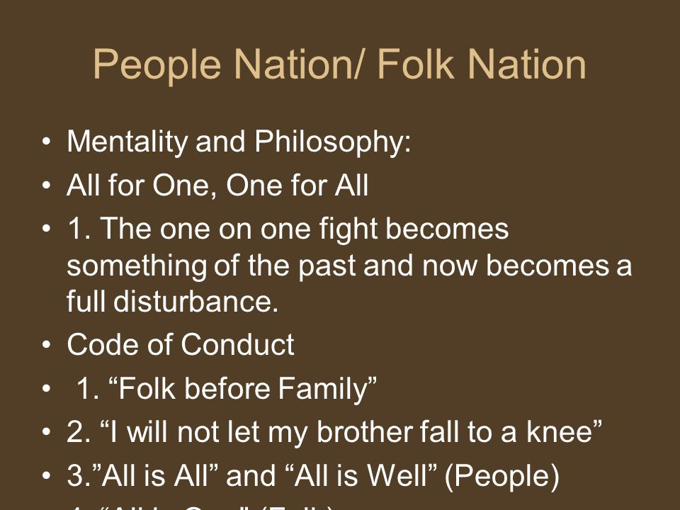 People Nation/ Folk Nation