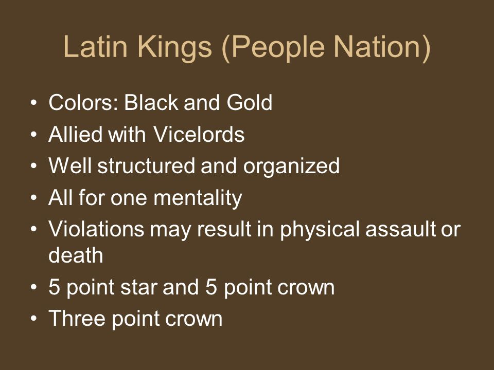 Latin Kings (People Nation)