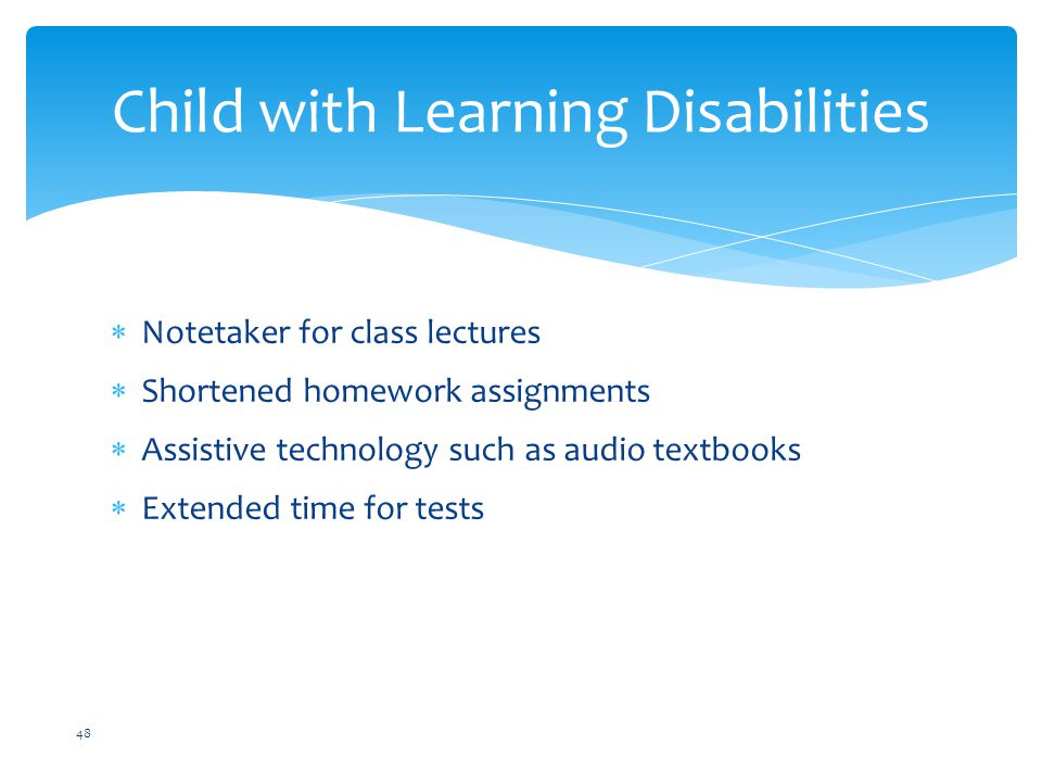 Child with Learning Disabilities