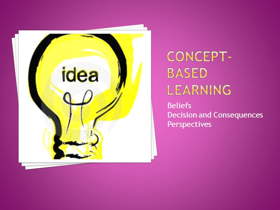 Concept-Based Learning