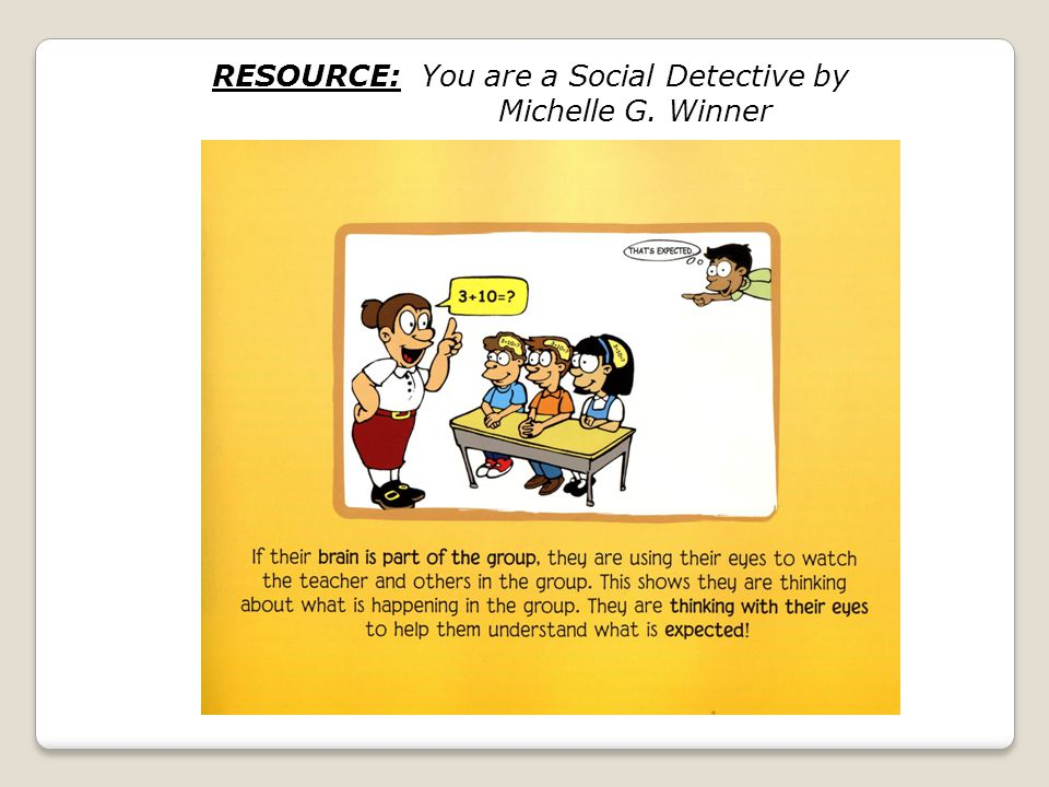 RESOURCE: You are a Social Detective by