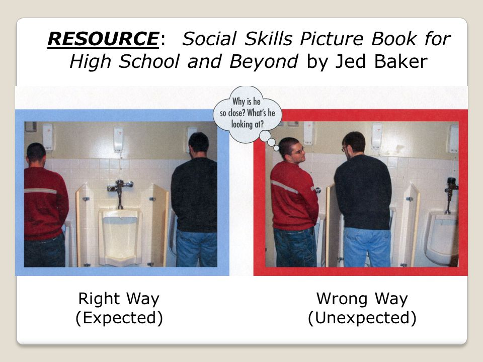 RESOURCE: Social Skills Picture Book for