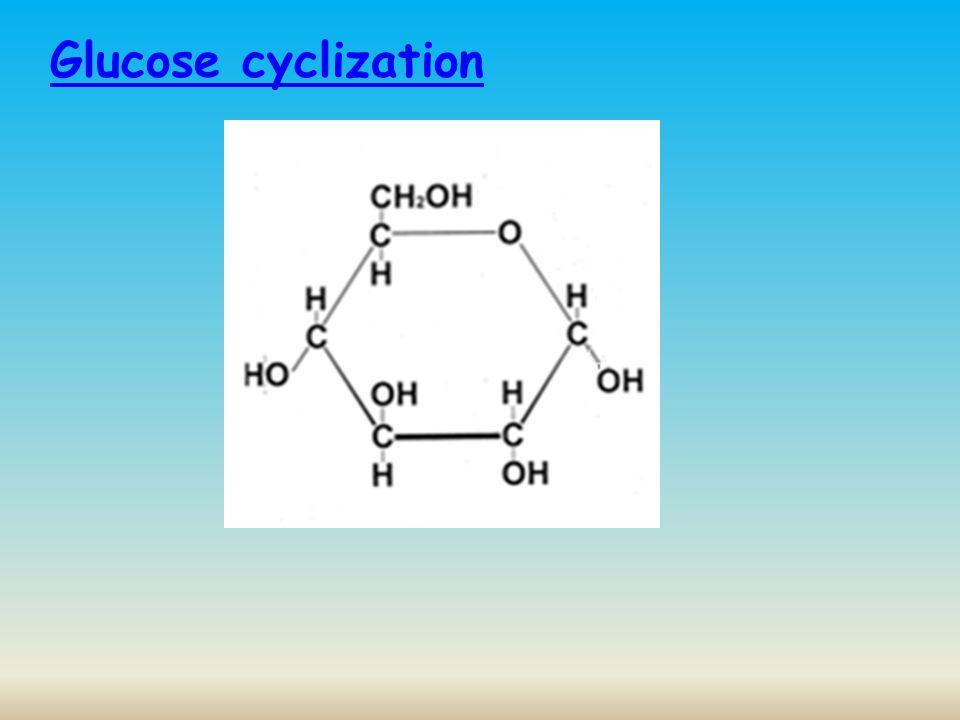 Glucose cyclization