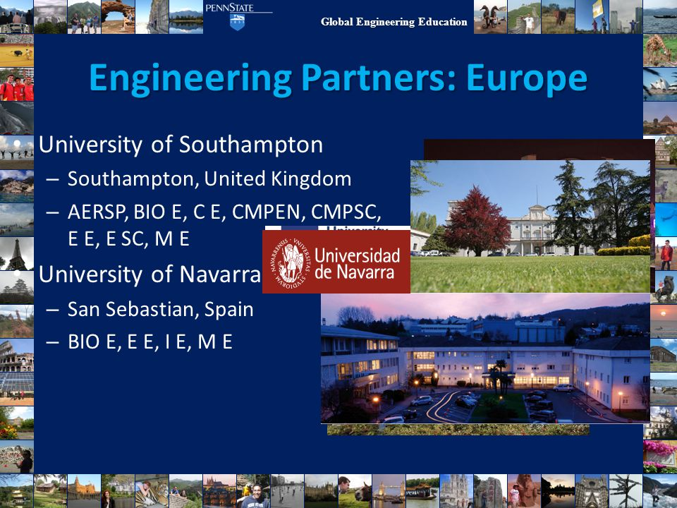 Engineering Partners: Europe