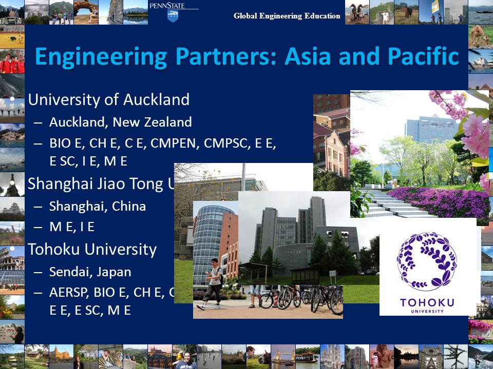 Engineering Partners: Asia and Pacific
