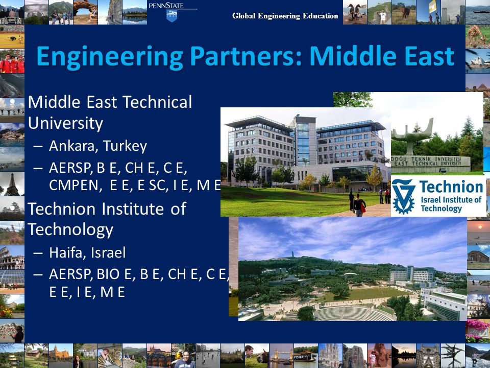 Engineering Partners: Middle East