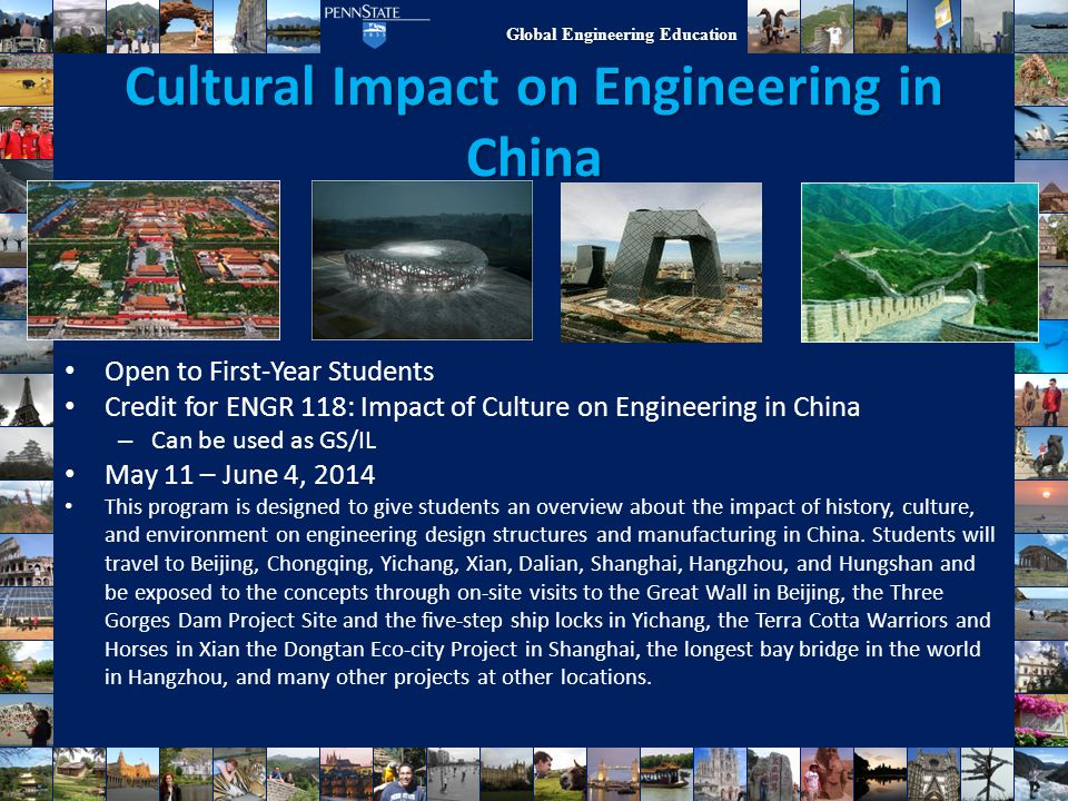 Cultural Impact on Engineering in China