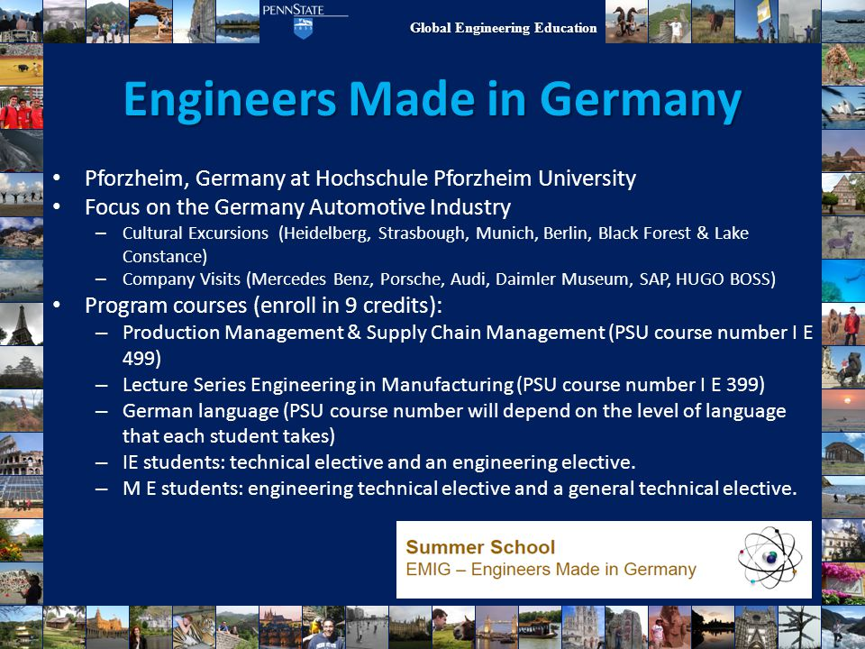 Engineers Made in Germany