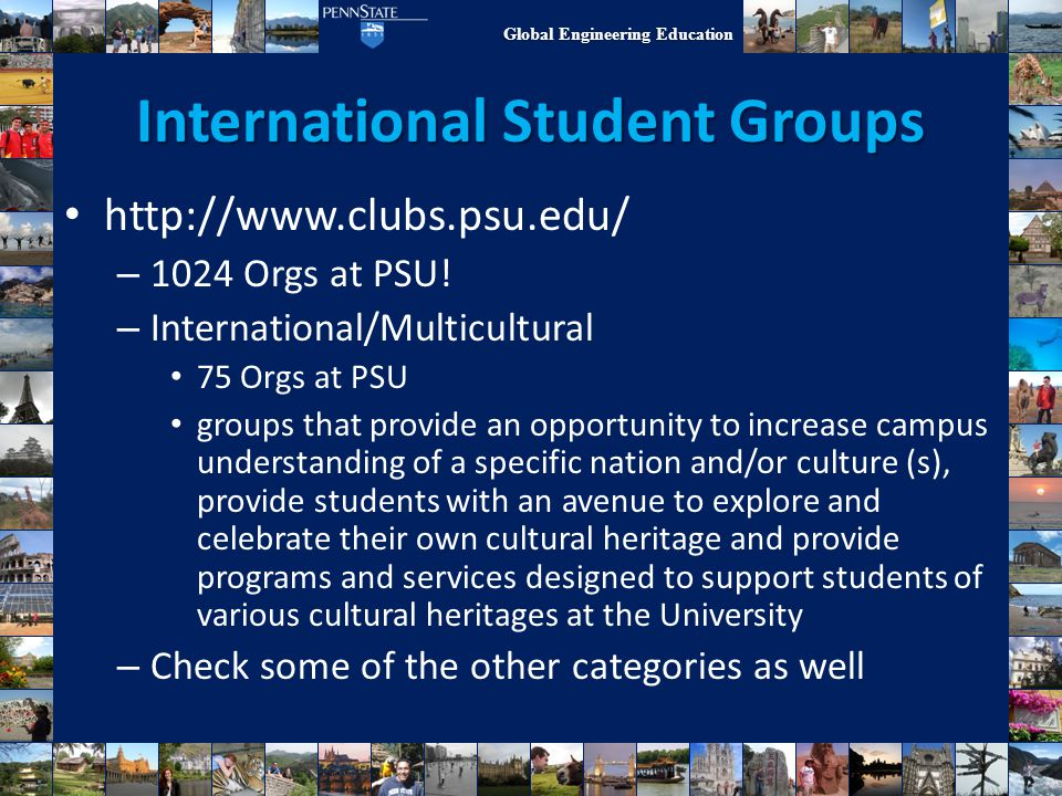 International Student Groups