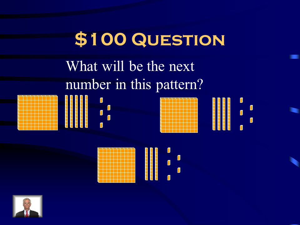 $100 Question What will be the next number in this pattern