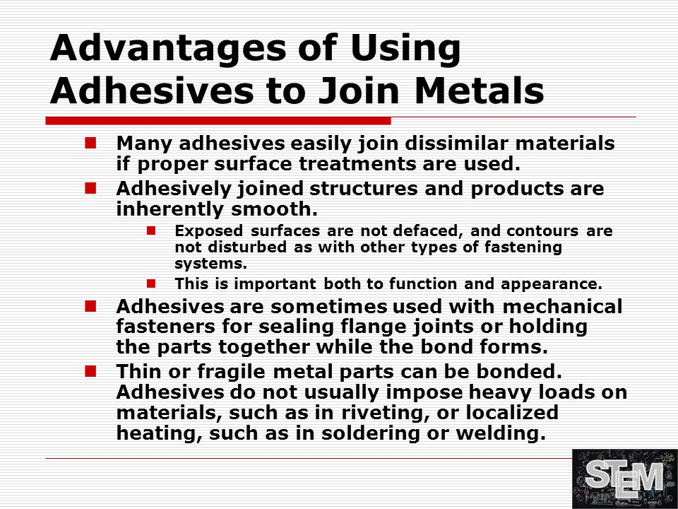 Advantages of Using Adhesives to Join Metals