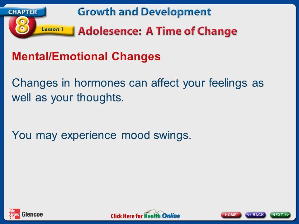 Mental/Emotional Changes