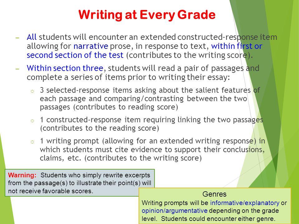 Writing at Every Grade