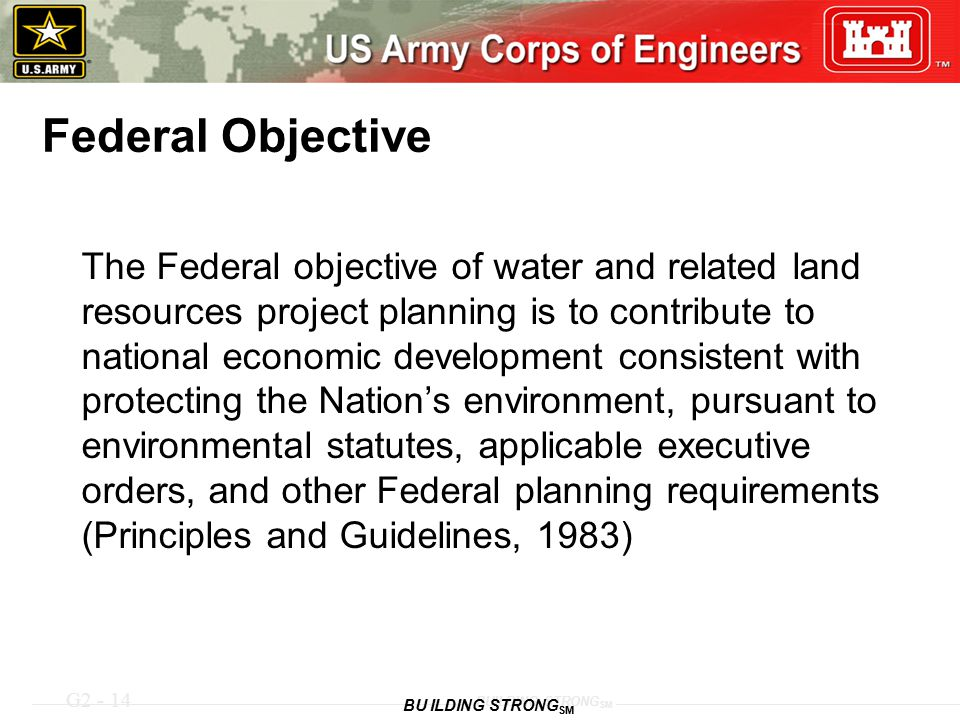 Federal Objective